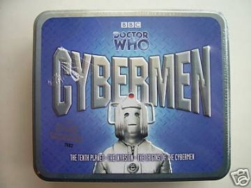 Doctor Who The Cybermen Limited  CD Tin Set  SEALED